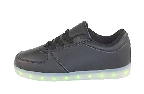 ATS Unisex LED Shoes Breathable Sneakers Light up Shoes for Men, Women, Boys.