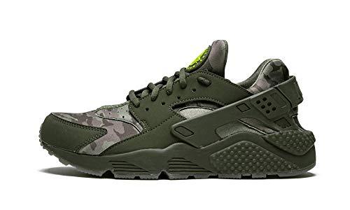 Nike Mens Air Huarache Run Cargo Khaki/Volt-Sequoia At6156 300 - Size 9.5