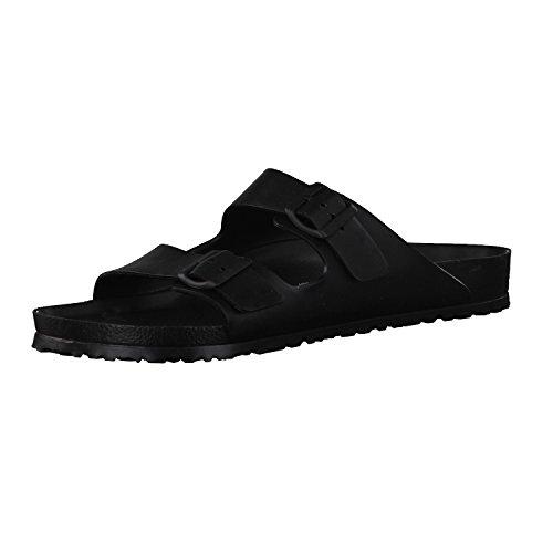 Birkenstock Unisex Arizona Essentials EVA Black Sandals - 44 M EU/13-13.5 B(M) US Women/11-11.5 D(M) US Men