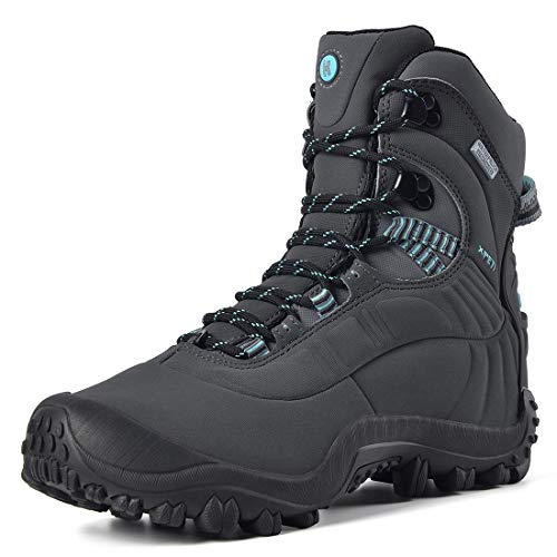 Manfen Women's Hiking Boots Lightweight Waterproof Hunting Boots, Ankle Support