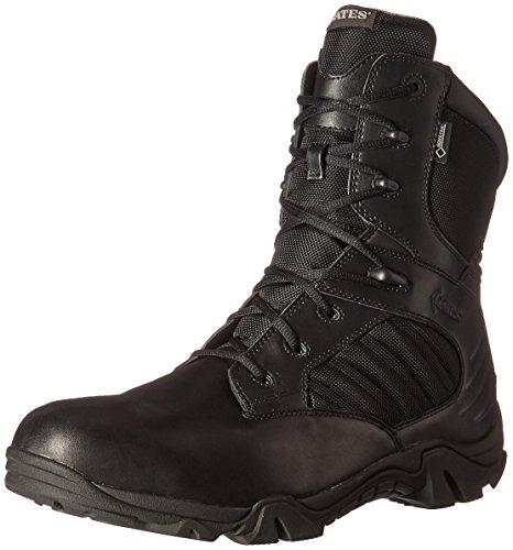 Bates Men's GX-8 Gore-Tex Waterproof Side Zip Boot, Black, 7 M US