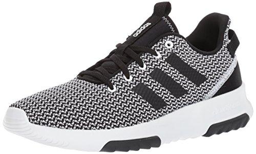 adidas Men's Cloudfoam Racer TR running Shoes, white/black/white, (8 M US)