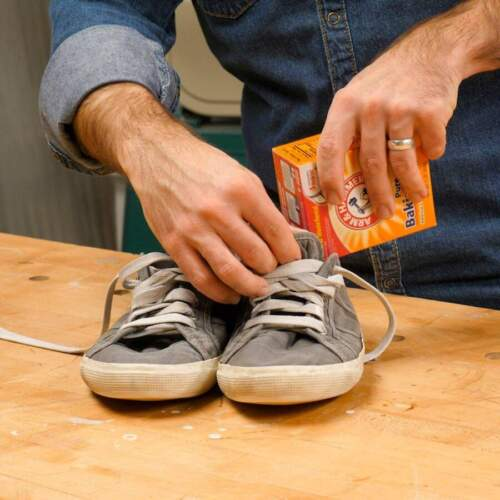 How To Get Rid Of Shoe Odor With Baking Soda?