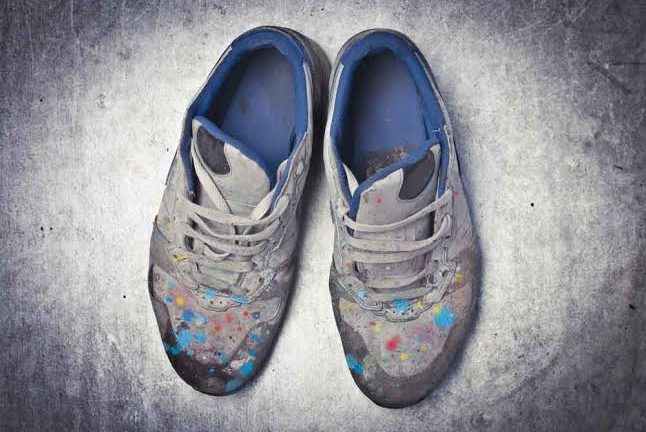 How To Remove Paint From Shoes