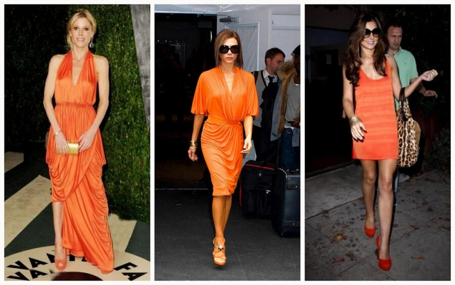 What Color Shoes Should I Wear With an Orange Dress?