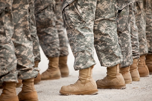 Can You Join The Military with Wide Feet?