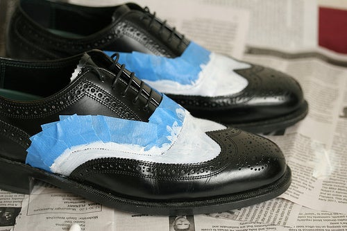 Can You Spray Paint Leather Shoes